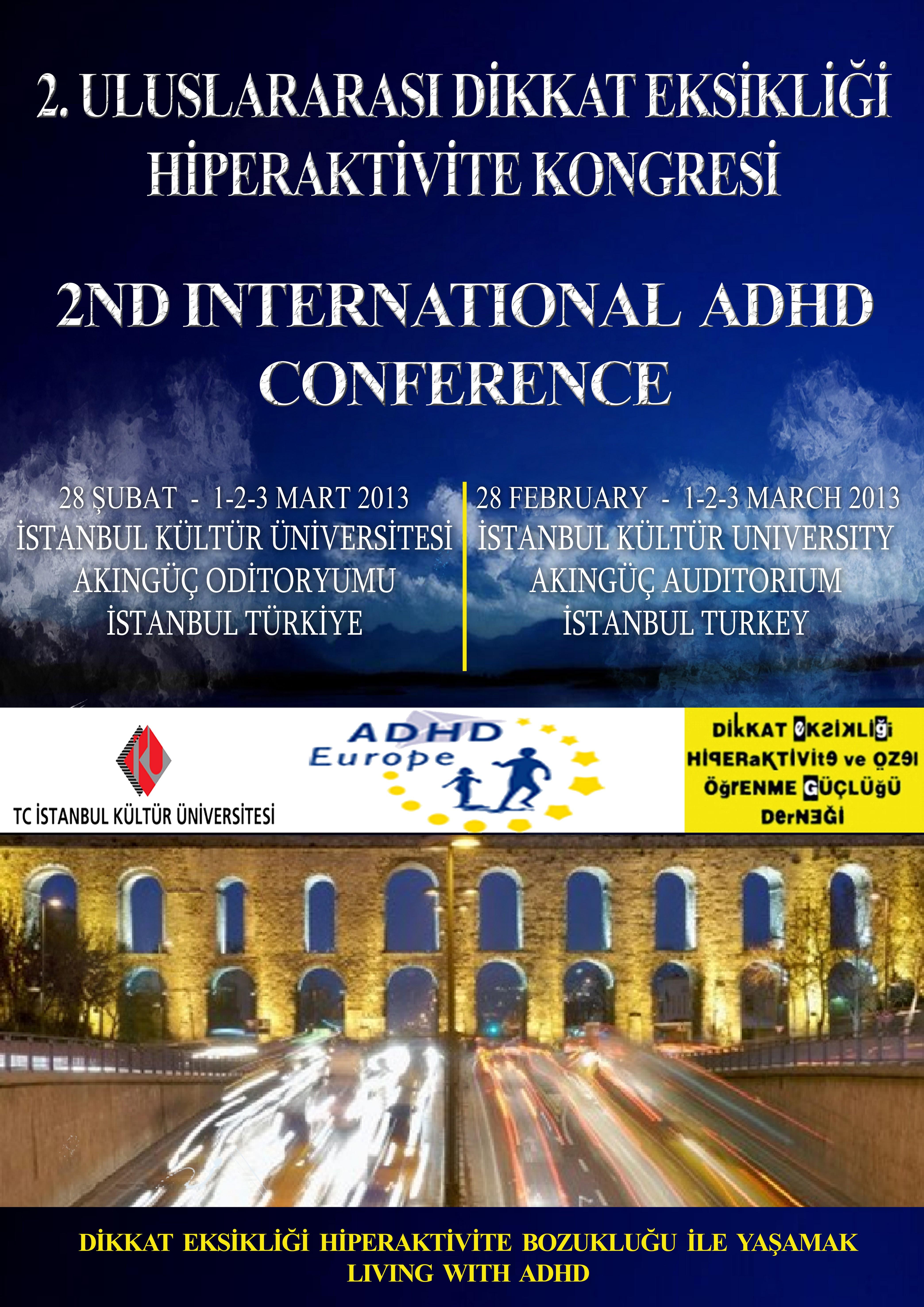 2. Uluslararası Dikkat Eksikliği Hiperaktivite Kongresi