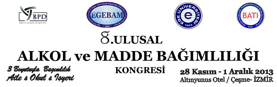 8.Ulusal Alkol ve Madde Bağımlılığı Kongresi